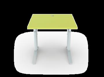 Schreibtisch h henverstellbar mit c fu breite 80 cm for Schreibtisch breite 80 cm