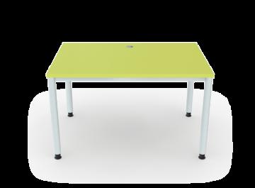 Schreibtisch 4 Beine Rundrohr ø 5 Cm Breite 120 Cm Premium Möbel