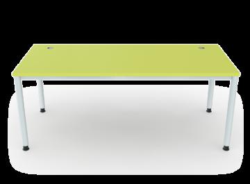 schreibtisch 4 beine rundrohr 5 cm breite 180 cm premium m bel erzgebirge gmbh. Black Bedroom Furniture Sets. Home Design Ideas