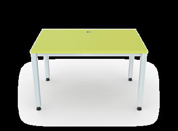 schreibtisch 4 beine vierkantrohr 5x5 cm breite 120 cm premium m bel erzgebirge gmbh. Black Bedroom Furniture Sets. Home Design Ideas