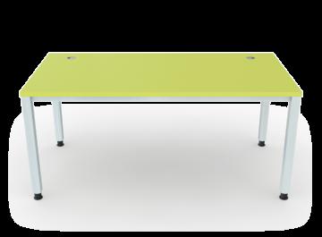schreibtisch 4 beine vierkantrohr 5x5 cm breite 160 cm premium m bel erzgebirge gmbh. Black Bedroom Furniture Sets. Home Design Ideas