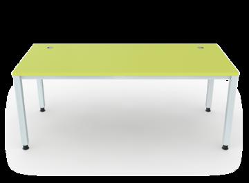 schreibtisch 4 beine vierkantrohr 5x5 cm breite 180 cm premium m bel erzgebirge gmbh. Black Bedroom Furniture Sets. Home Design Ideas